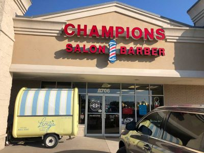 Champion Salon And Barber Store Front